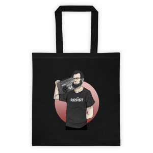 Resist (with Lincon) Tote