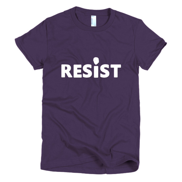 Resist Short Sleeve Women's T-Shirt