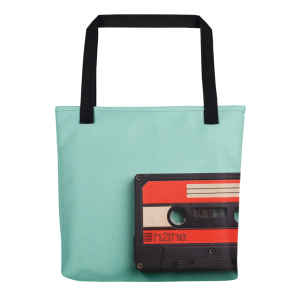 h2the cassette Tote bag